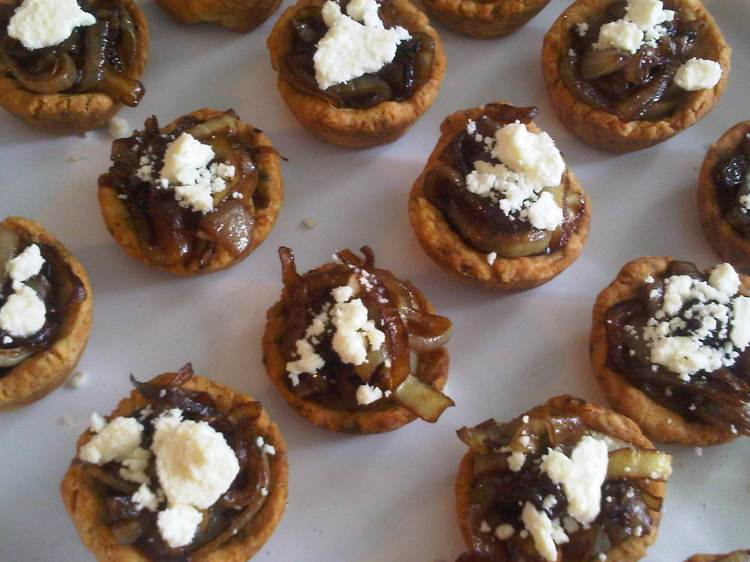 Sweet Onion Tarts